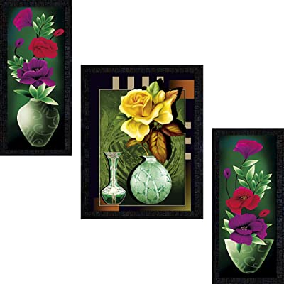 PNF Set of 3 Framed Flowers 1533