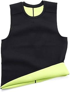 Waist Trainer Slimming Belt Belly Mens Sauna Vest Body Shaper Neoprene Abdomen Fat Burning Shaperwear Sweat Corset Weight ...
