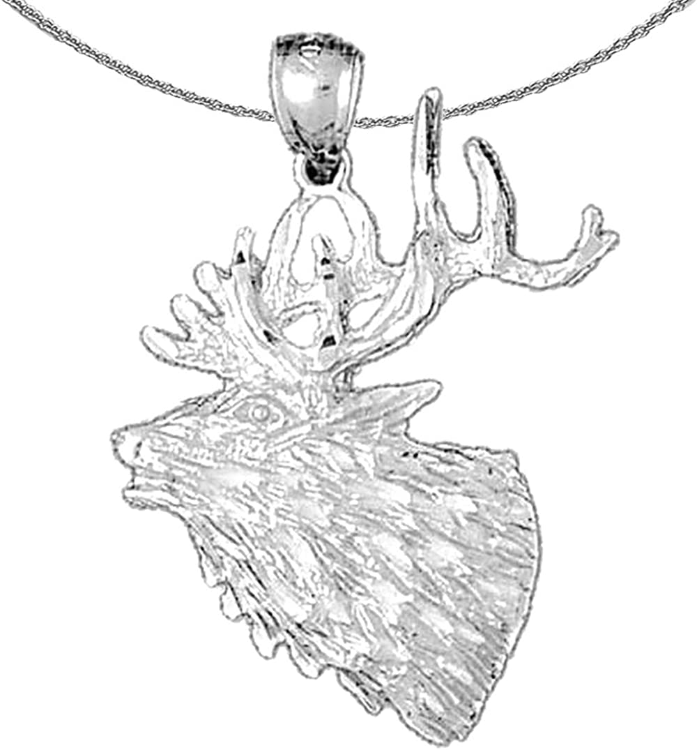 Jewels Phoenix Mall Ranking TOP4 Obsession Silver Elk Necklace 925 Rhodium-plated