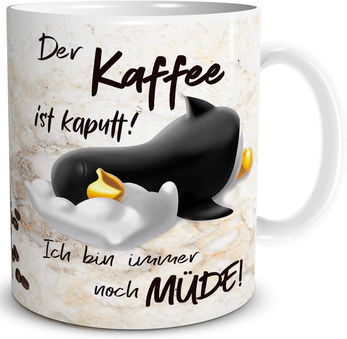 Pinguin Kaffeetasse für Freundin
