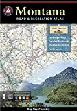 Montana Benchmark Road & Recreation Atlas