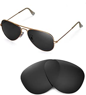 Replacement Lenses for Ray-Ban Aviator Large Metal RB3025 58mm Sunglasses - 6 Options Available