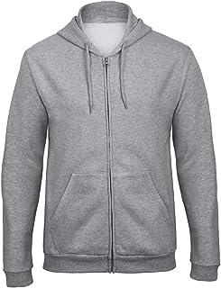 B&C Adults Unisex ID.205 50/50 Full Zip Hooded Sweatshirt