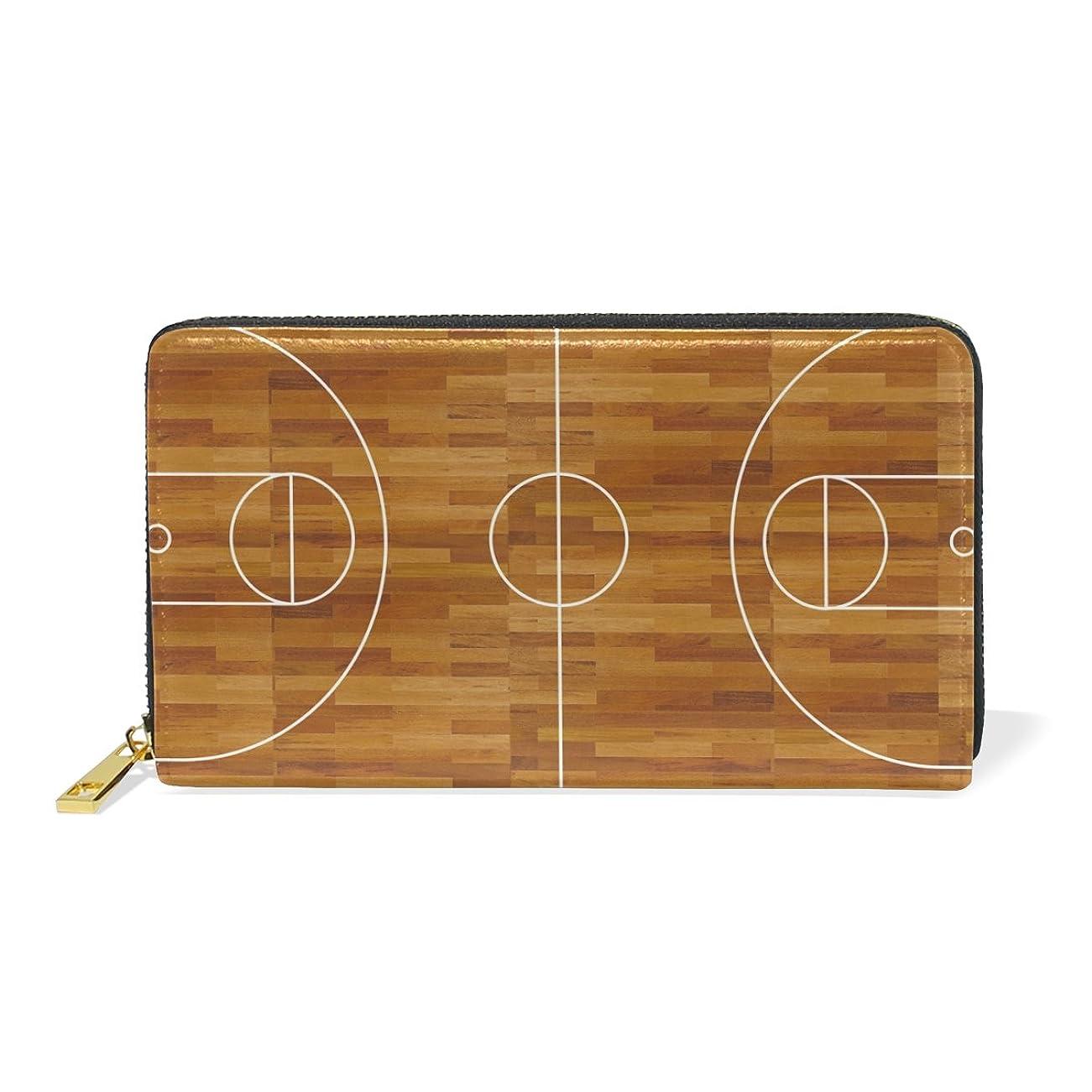 腐敗地平線改善AOMOKI 財布 長財布 レディース 本革 大容量 ラウンドファスナー 通勤 通学 バスケットボール