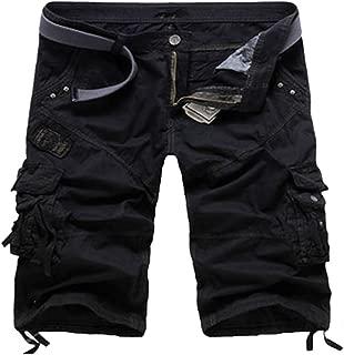 Hombre - Pantalón Corto Bermuda - Cargo - Baggy - Vintage - Suelta