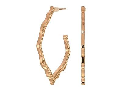 Kendra Scott Miku Earrings (Rose Gold) Earring