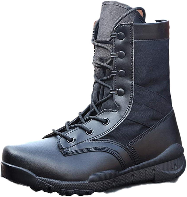 Men's Boots Tactical Military Boots Desert Lightweight Outdoor High Boots Desert Boots