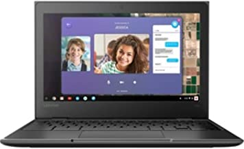 "Lenovo 100E Chromebook 2ND Gen 81MA0000US 11.6"" Chromebook - 1366 X 768 - Celeron N4000-4 GB RAM - 32 GB Flash Memory - Gr..."