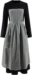 Women's Long Black Dress Maria Cosplay Music Sound Costume
