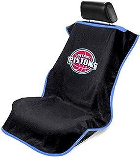 Seat Armour SA100PIST-B Black 'NBA Pistons' Seat Protector Towel
