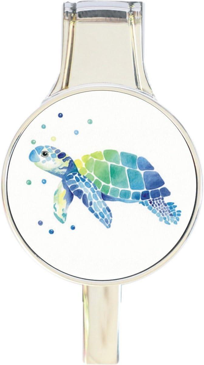 Watercolor Sea Turtle Everything Purse Handbag Hook Hanger Retra Sale Popular SALE% OFF