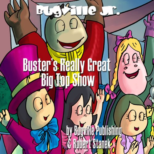 Buster's Really Great Big Top Show audiobook cover art