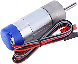 24V DC 330RPM Miniature Geared Motor with Encoder,High Torque Speed Reduction Motor for Smart Home Applianceand Industrial Area