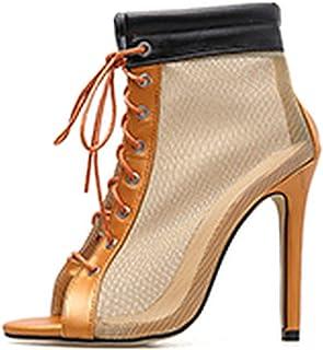 Botas Zapatos Amazon Naranja MujerY esMango Para f6yYgvb7