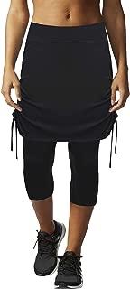 HonourSex Womens Capri Skirt Tennis Golf Casual Skirted Leggings Skort, Sport Running Athletic Swim Workout Biker UPF 50+