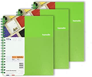 3 Subject 8.5x11 College Ruled Spiral Bound Notebook EMERALD Green 3-PACK