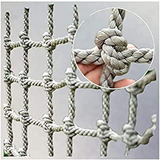 Child Safety Net Climbing Net,Climbing Toys for Toddlers, Kids Railings Stairs Balcony Net Protection Fence Indoor Swing Tree Climb Rope (Color : 10cm-12mm, Size : 310m(1033ft))