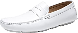 JOUSEN Men's Loafer Lightweight Slip On Driving Shoes Soft Penny Loafers