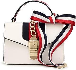 Women's Handbag Fashion Versatile Satchel Multi-Function Mini Handbag, Shoulder Bag with a Bow Tie