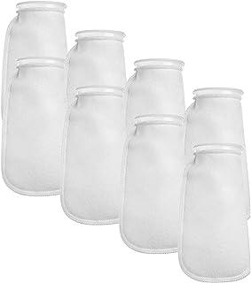 Aquatic Experts Filter Socks 200 Micron - 4 Inch Ring by 10.5 Inch Long - Medium - Aquarium Felt Filter Bags, Custom Made ...