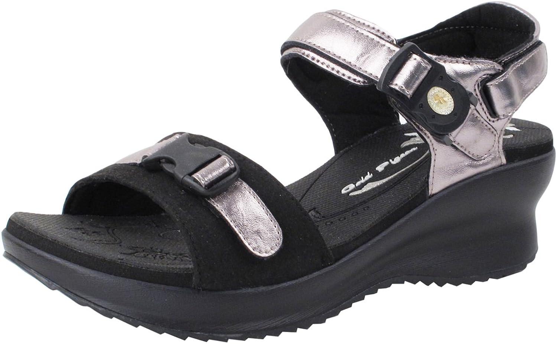 GP5974 Women Easy Magnetic Closure (Snap Lock¨) Light Weight Comfort Pump Sandal