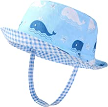 Kids Sun Hat Bucket Hat for Baby Toddler Double Side - UPF50+ Sun Protection Summer,Breathable,Age 1-6