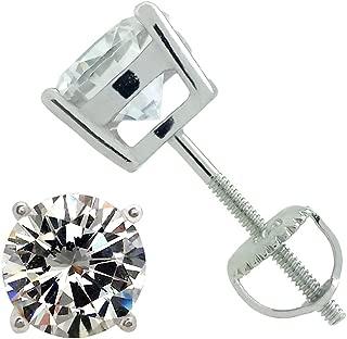 Best screw back stud earrings uk Reviews