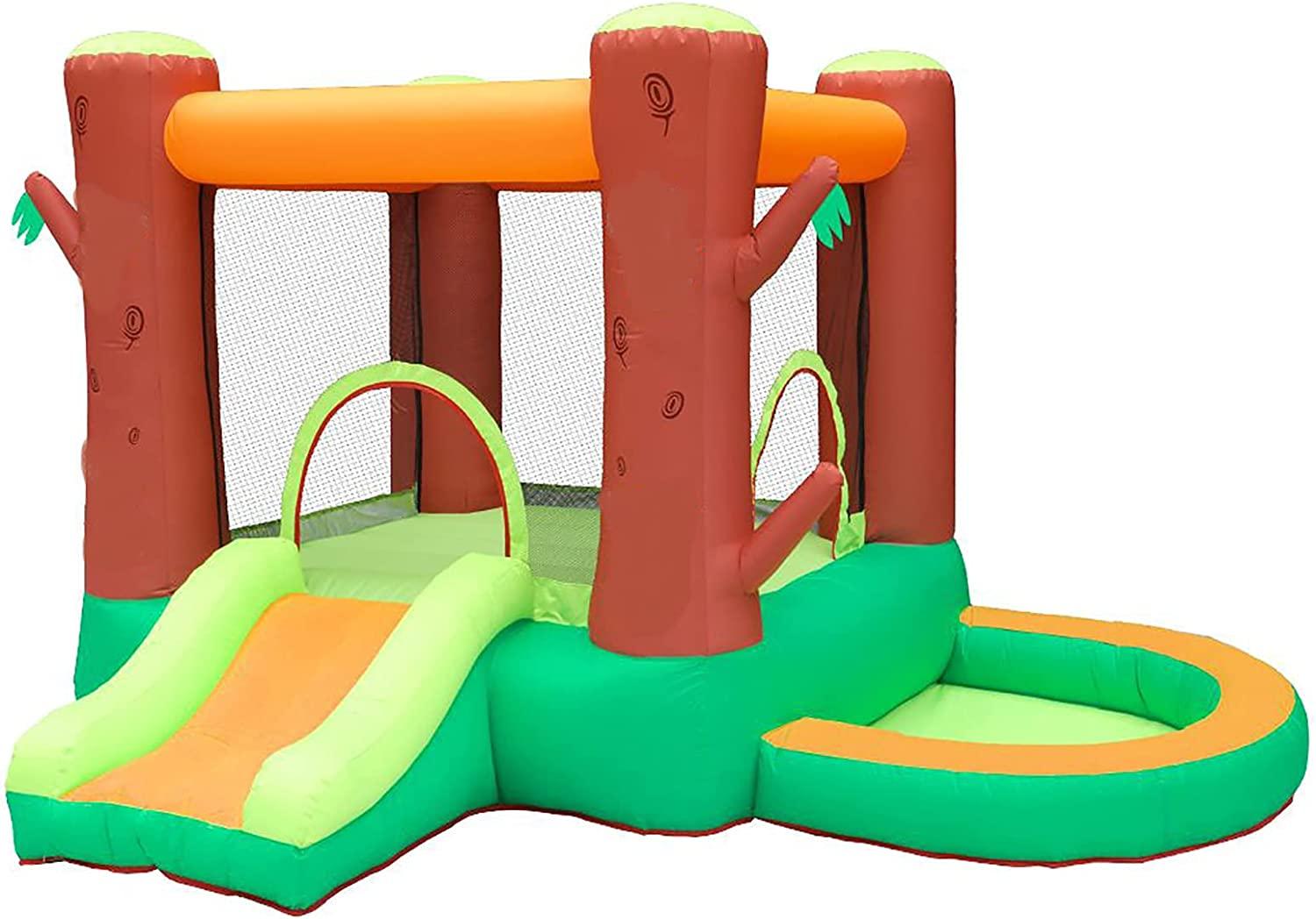 70% OFF Outlet NSZJWD Bouncy Castle for Kids Jump Outdoor Inflatable Product Bouncers