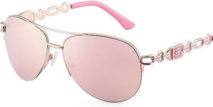 35a8e4ea36 Classic Aviator Sunglasses For Women Men Metal Frame Mirrored Lens Driving  Fashion UV400 Glasses 0257