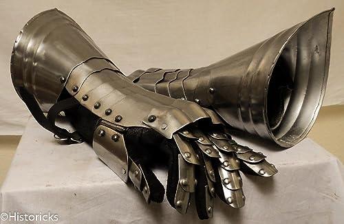 Steel Gauntlets - larp   role-play   fancy-Robe   theatre costume