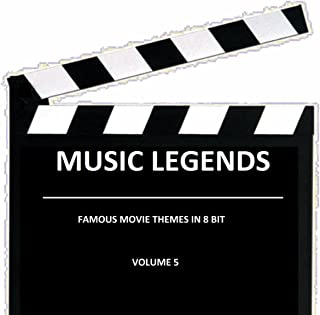 Famous movie themes in 8 bit Volume 5