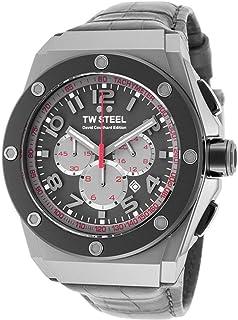 ساعة TW ستيل CE4002 كرونوغراف مينا رمادية للرجال CE4002