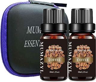 MUMAZYL 2Pack Coffee Essential Oils Organic Olant & Natural 100% Pure Therapeutic Grade Oil Perfect for Diffuser, Humidifi...