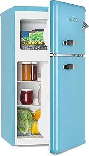 comprar comparacion Klarstein Irene - Nevera combi, Nevera retro, Nevera de 61 litros, Congelador de 24 litros, Emisión de 40 dB, 2 baldas, 2 ...
