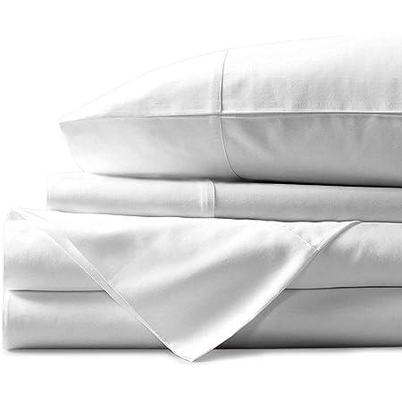 "Details about  / 100/% Egyptian Cotton 4 Piece Sheet Set 600 Tc Queen//King All Size 15/"" Deep"