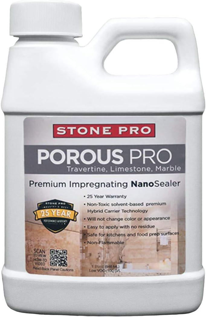 StonePro – Porous Pro Sealer 1 Fl Pint Oz Sale SALE% OFF 16 Special sale item for