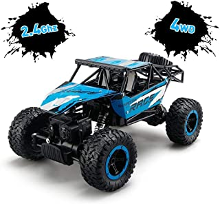 TOYEN Remote Control Cars, RC Rock Off-Road Vehicle 2.4Ghz 4WD Fast Speed Racing Cars