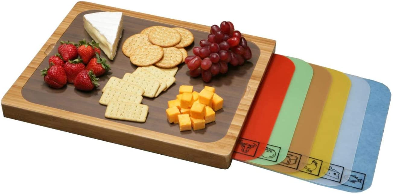 BAMBOO CUTTING BOARD New York 70% OFF Outlet Mall AND 7 R-CODED MATS