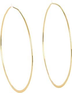 Best gold hoop earrings large 14k Reviews