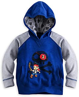 Disney Store Jake and the Never Land Pirates Pullover Hoodie Size XXS 3 3T