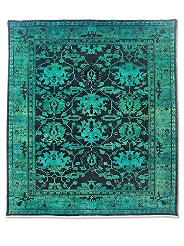 Pak Persian Rugs Handgeknüpfter Ushak Teppich, Bulgarische Rose, Wolle, Medium, 252 X 286 cm