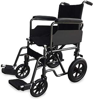 Silla de ruedas de acero S230 | Plegable | De paseo | Manual | Para mayores