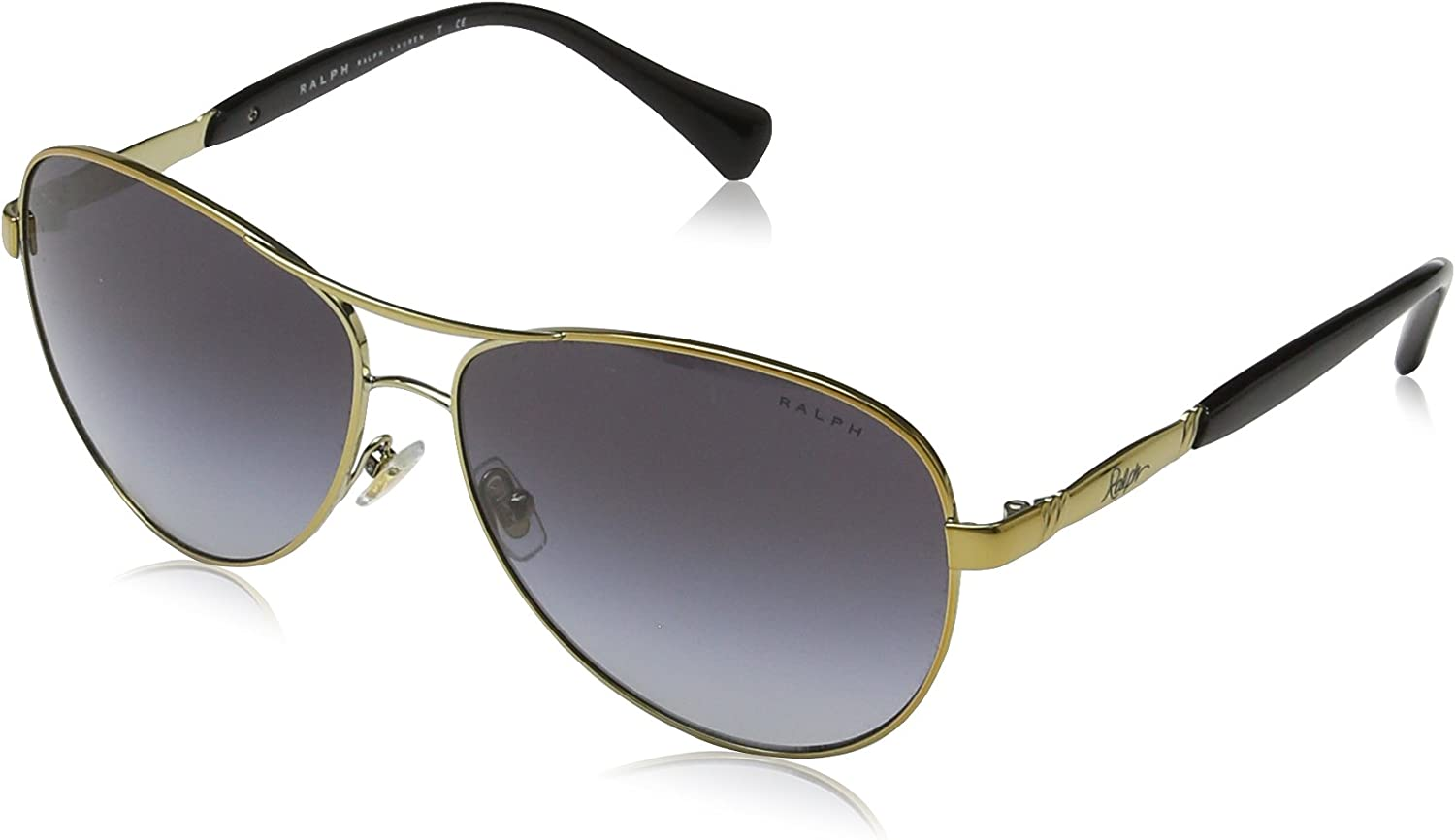Ralph RA 4117 gold BLACK GREY SHADED women Sunglasses