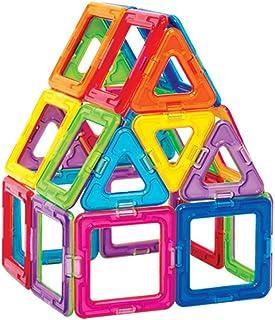 McDou 46 PCS Building Blocks Set,STEM Building Block Preschool Educational Construction Kit DIY Creative 3D Magnetic Toys ...