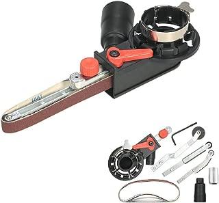 VISLONE Belt Sander Mini Sanding Belt Head Adapter Electric Angle Grinder for 115mm 4.5