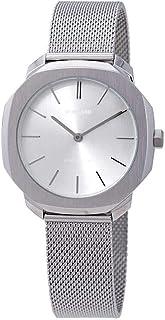 D1 Milano Super Slim Silver Dial Ladies Watch SSML01