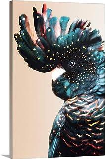 "Cockatoo Light Canvas Wall Art Print, 16""x24""x1.25"""