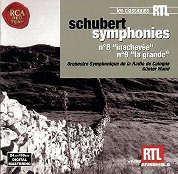 "Schubert: Symphonie No. 8 ""Inachevée"" and Symphonie No. 9 ""La Grande"""