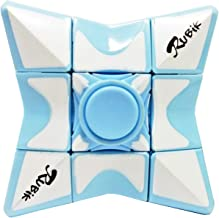 Jolitac Fidget Spinner Cube Finger Toy Magic Cube Classic Speed Rubiks Cube Puzzle Floppy Spinner 1x3x3 Anti Anxiety Toys for Adult