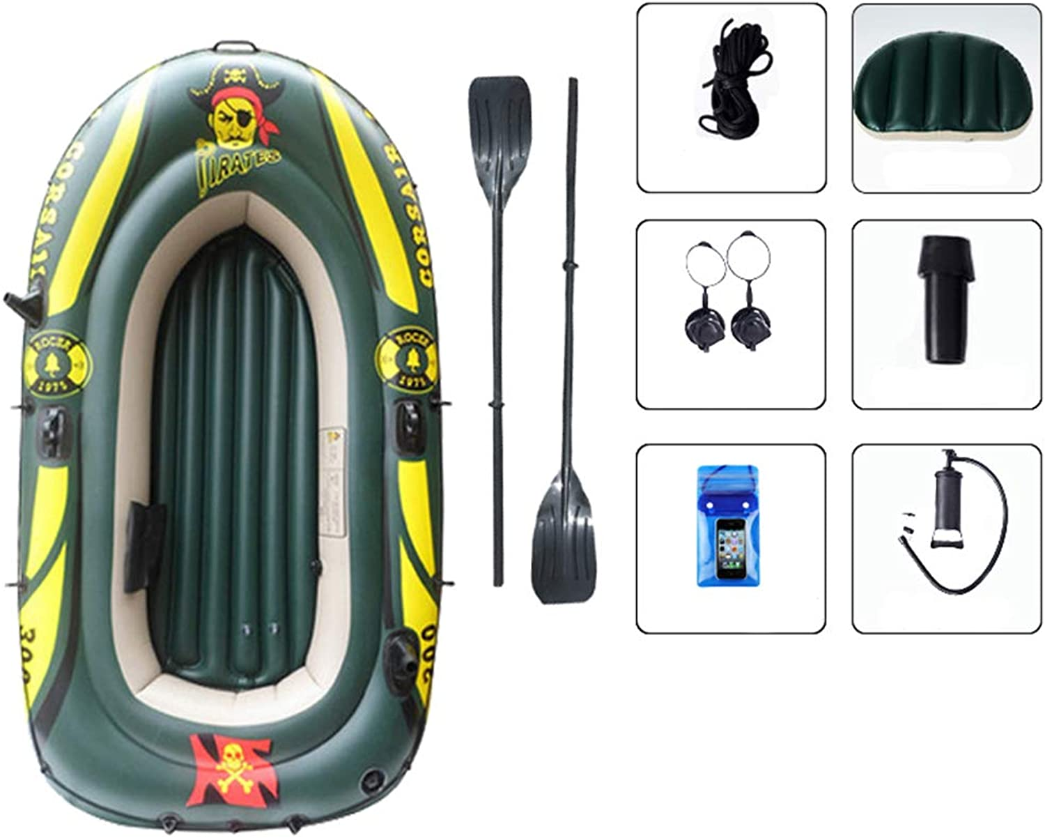 for Boat PVC Inflatable ADKINC Fishing Raft Recreation Water